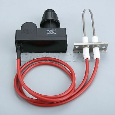 Electronic Ignition Igniter (Ignition Kit Electronic igniter with high Spark Plug Wire Gas Grill Heater)