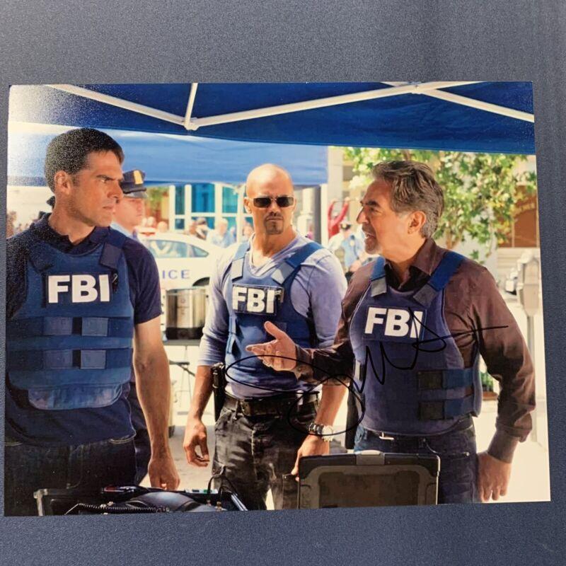 JOE MANTEGNA HAND SIGNED 8x10 PHOTO ACTOR AUTOGRAPHED CRIMINAL MINDS RARE COA
