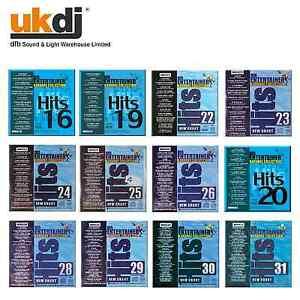 Mr-Entertainer-Karaoke-Hits-CDG-179-Songs-12-CD-Pack-Bulk-Sale-Price-CD-G-Discs