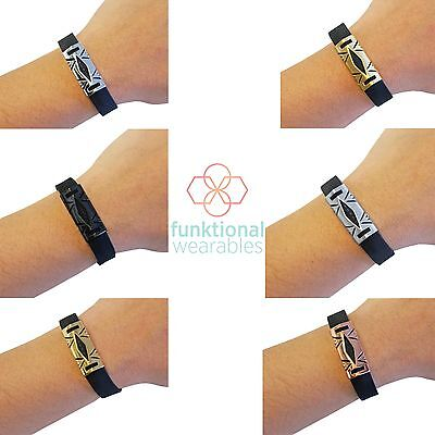 HAYDEN Cover to Protect & Enhance Fitbit Flex 2 Fitness Activity Trackers- SALE!