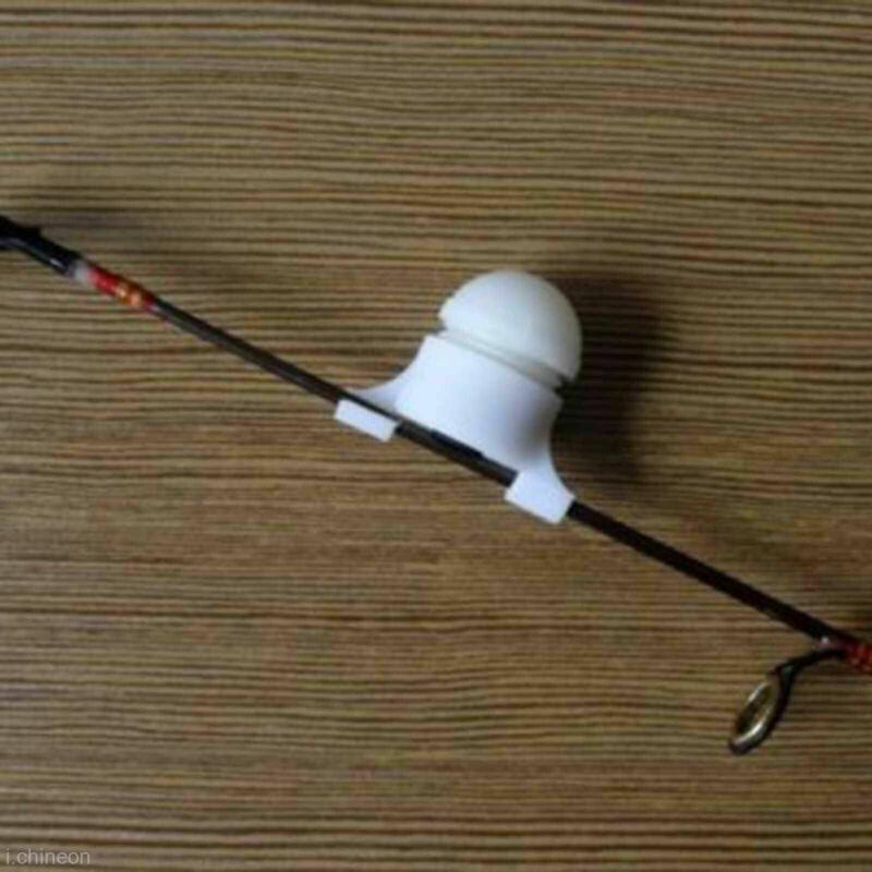 2-in-1 Fishing Sound-light Alarm Device Night LED Bite Bell Bait Light Rod