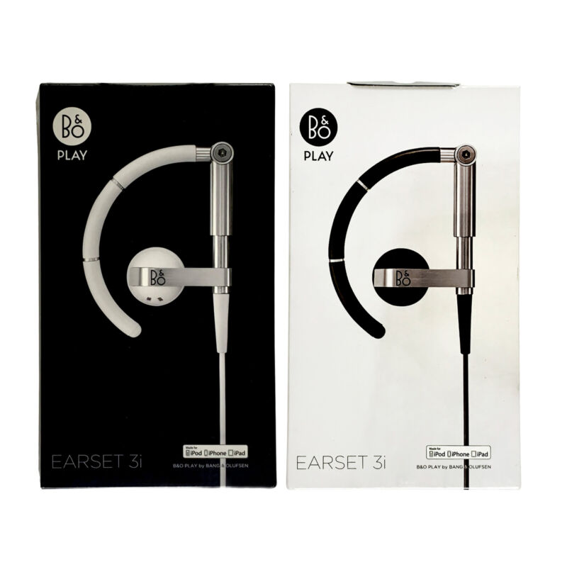 NEW BANG & OLUFSEN EARSET 3i B&O PLAY HEADPHONES SEALED