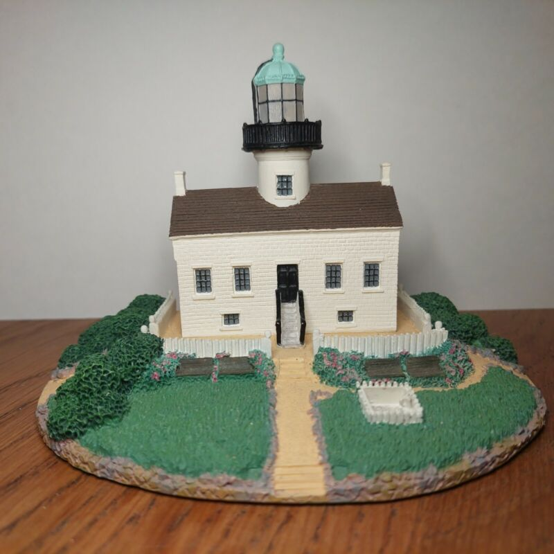 """Danbury Mint, """"Old Point Loma Lighthouse"""" Collectable San Diego California"""