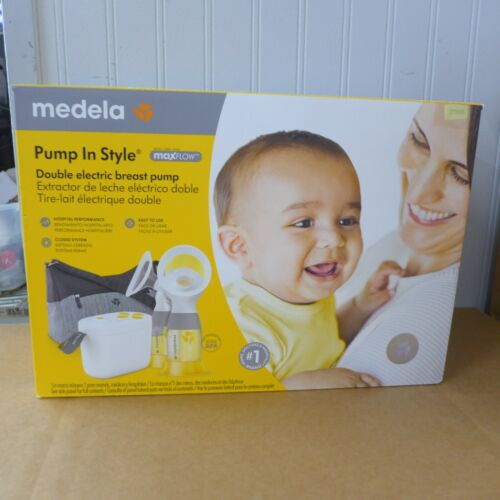 MEDELA PUMP IN STYLE MAX FLOW DOUBLE ELECTRIC BREAST PUMP BRAND *NEW*