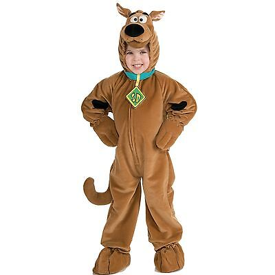 Scooby Doo Costumes Kids (Child Deluxe Polar Fleece Scooby Doo Dog Fancy Dress Halloween Costume)