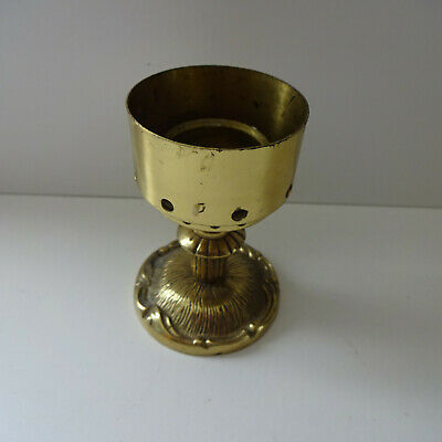 Holder Candle Holders Brass Approx. 9 CM