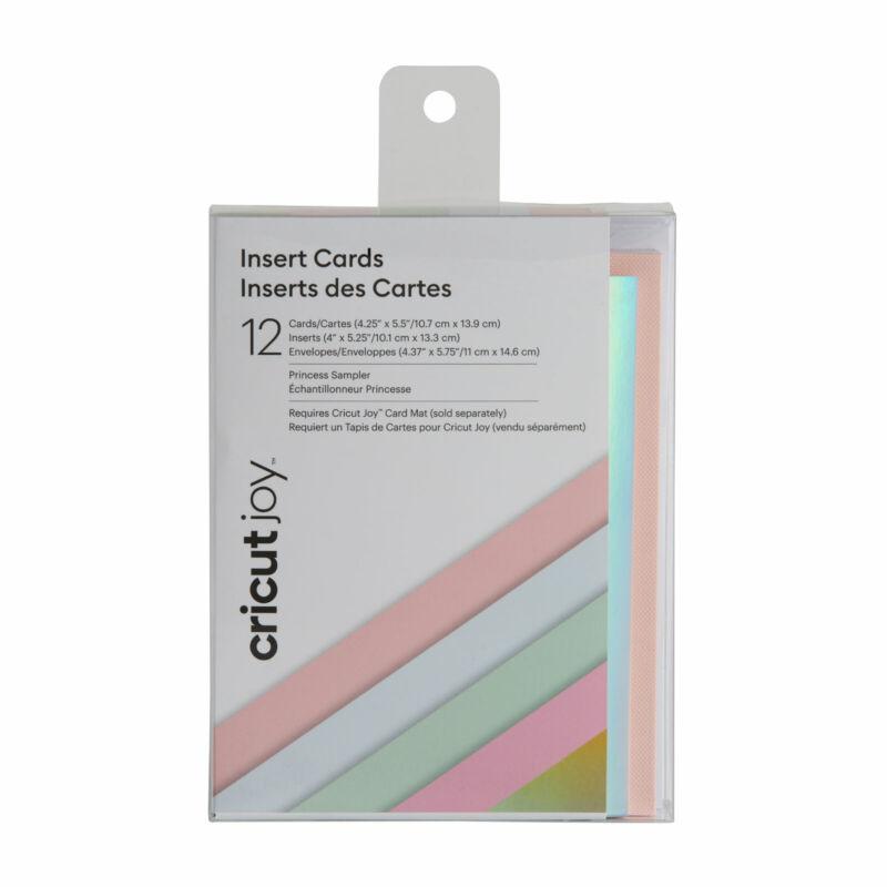 Cricut Joy Insert Cards - Princess Sampler 12 ct