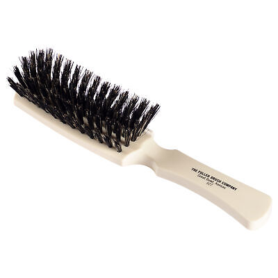 Fuller Brush Lustre Professional Hairbrush Narrow Soft Natural Boar -