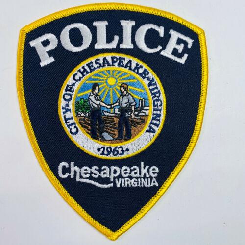 Chesapeake Police Virginia VA Patch (A8)