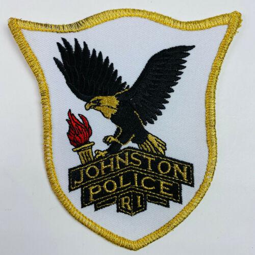 Johnston Police Rhode Island RI Patch (A3-B)