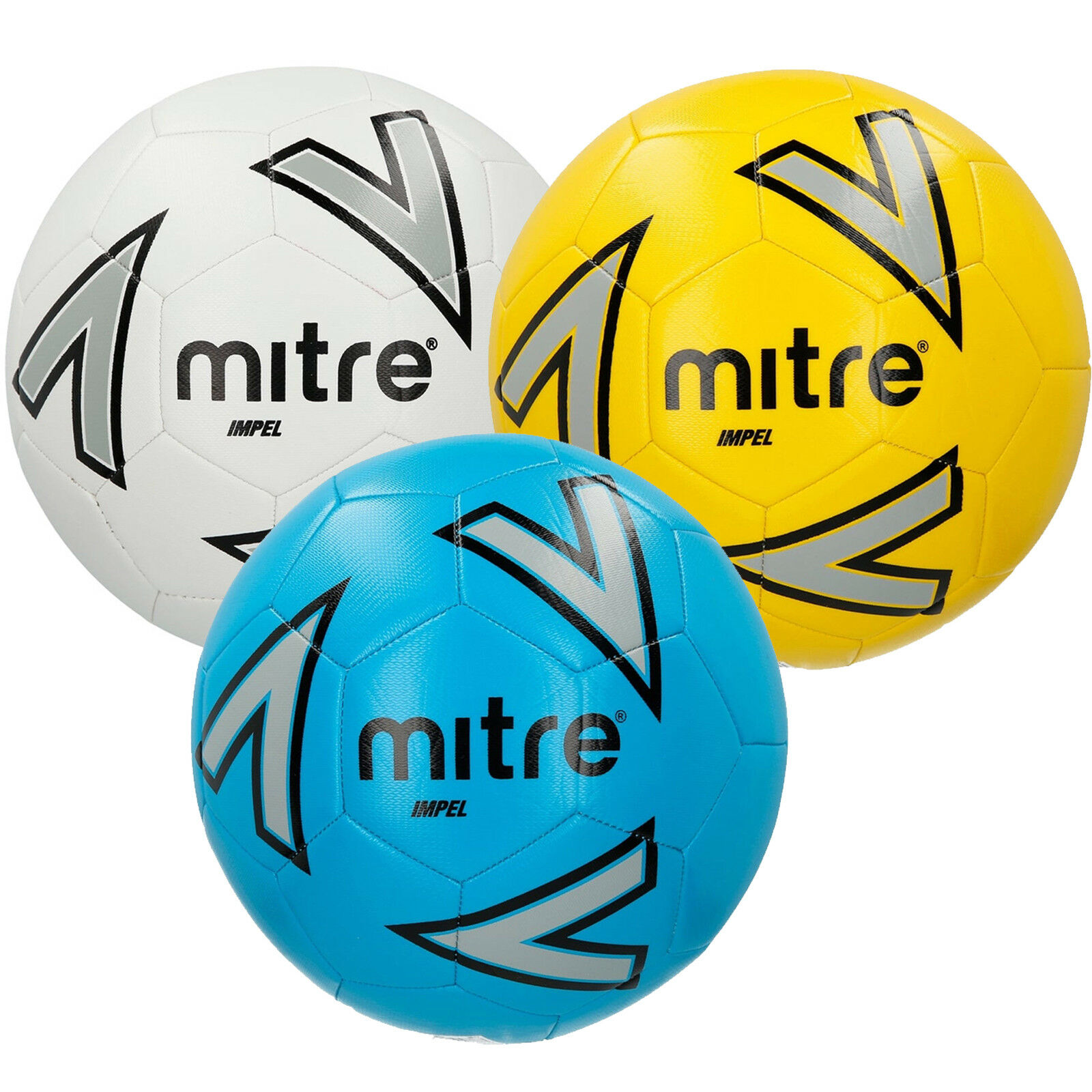Mitre Impel Training Ball Grass Astro Football New