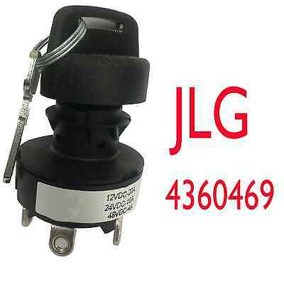 Jlg 4360469 - New Jlg Ignition Key Switch Oem Original