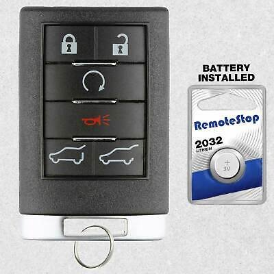 For 2007 2008 2009 2010 Cadillac Escalade Suburban Tahoe Keyless Remote Key Fob