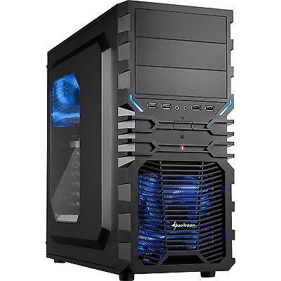 Sharkoon VG4-W, Tower-Gehäuse, schwarz