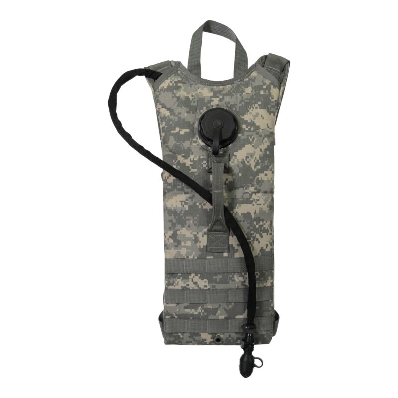 US Army GI MOLLE Hydration Pack, 3 Liter/100 Oz Bladder, Genuine Issue, USA Made