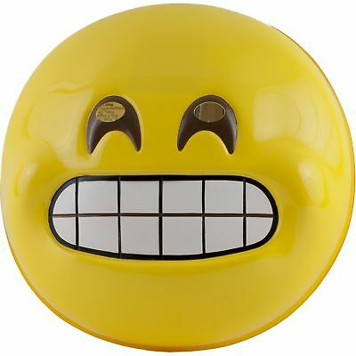 Emoji Grin Wry Smile Emoticon Mask Adult for Halloween Costume Funny - Halloween Emoticon