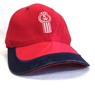 KENWORTH Embroidered Baseball Hat THE WORLD'S BEST Trucking Cap Rig Drivers Lid