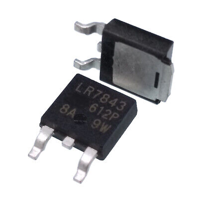 Us Stock 10pcs Irlr7843 Lr7843 To-252 Smd N-channel Power Mosfet