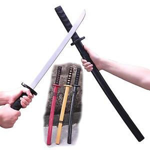 28Japanese-Samurai-Katana-Wooden-Practice-Sword-Childs-Toy-Kendo-for ...