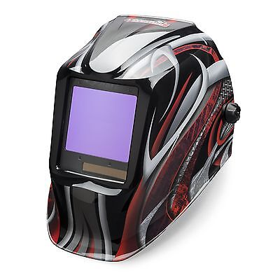 Lincoln Viking 3350 Series Twisted Metal Auto Darkening Welding Helmet K3248-3
