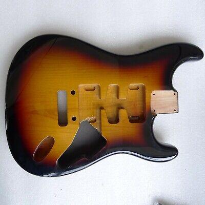2 pcs North American Alder Strat HSH Stratocaster Guitar Body 3 Tone Sunbrust