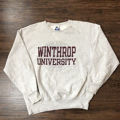 Vintage 90s Champion Crewneck Sweatshirt Large Winthrop University