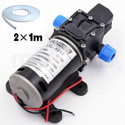 Wasserpumpe 12V mit Schlauch Hochdruck Pumpe Automatische Auto Car 100w 160psi