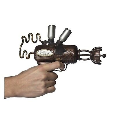 Steampunk Alien Space Ray Gun Blaster Halloween Costume Cosplay Fake Weapon Prop