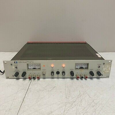Hp Agilent 6253a Dual Dc Power Supply 20v 3a Tested And Works Great