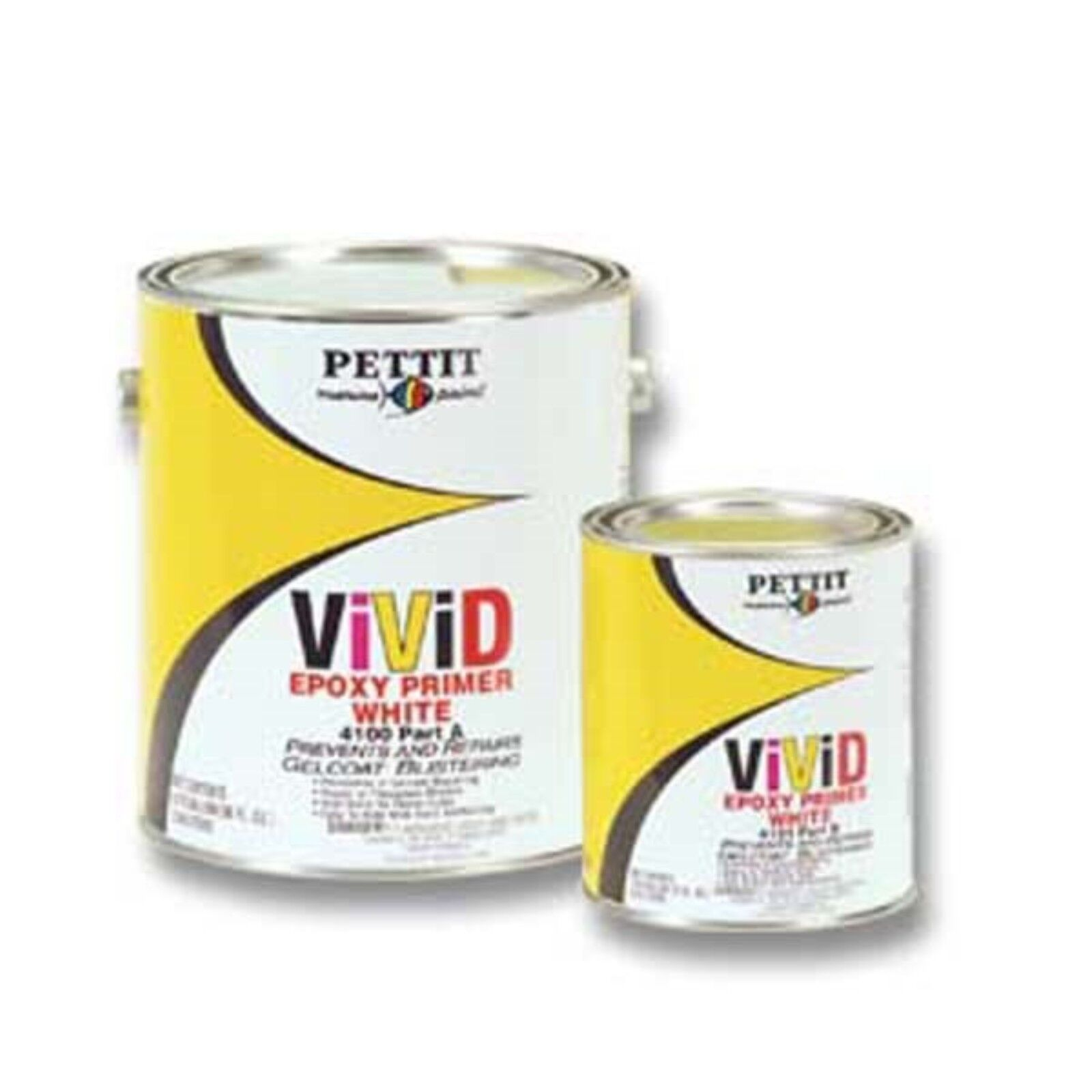 Marine Epoxy Paint : Pettit  g vivid epoxy marine primer white gallon