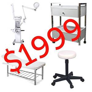 Beauty Room Package 10 in 1 Machiene, Bed, Trolley, Stool Rocklea Brisbane South West Preview