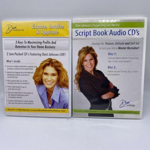 "Dani Johnson 2 CD Set ""Expose, Involve & Upgrade"" & Prospecting and Closing Audi"