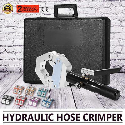 New 71500 A/C Hose Crimper Tool Kit Manual Hydraulic Crimper Portable Crimping