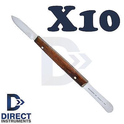 10pcs Fahen Wax Knife 13cm Pottery Waxing Modelling Spatula Mixing Waxing Tools