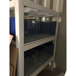 Fish tank with rack 4 x 4 - near new - Down sizing
