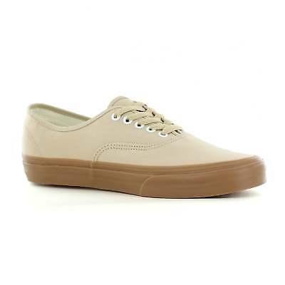 2eefb139acf677 Vans VN0A38EMQA2 Authentic Unisex Canvas Skate Shoes - Sesame Gum