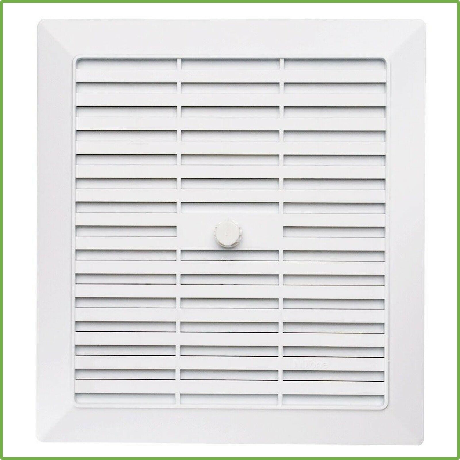 NuTone Replacement White Bathroom Vent Grille Cover for 686