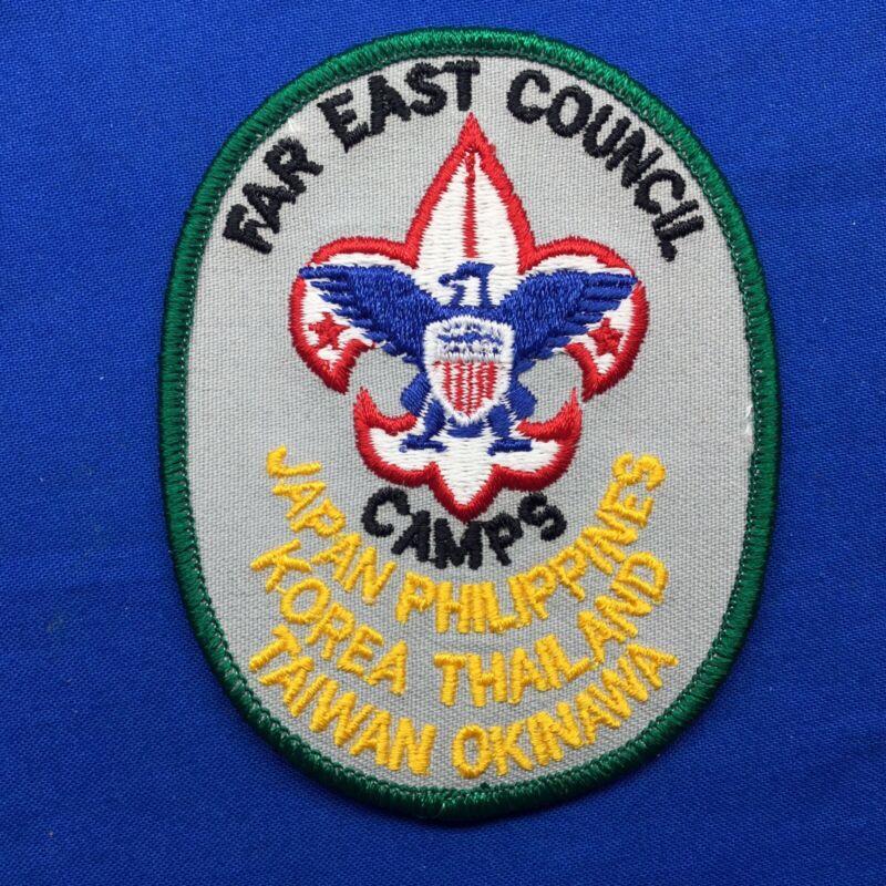 Boy Scout Camp Patch Far East Council Camps Japan Philippines Korea Thailand Tai