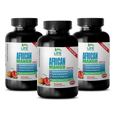 Best Diet Pills - African Mango Lean 1200 - Healthy Weight Management Caps