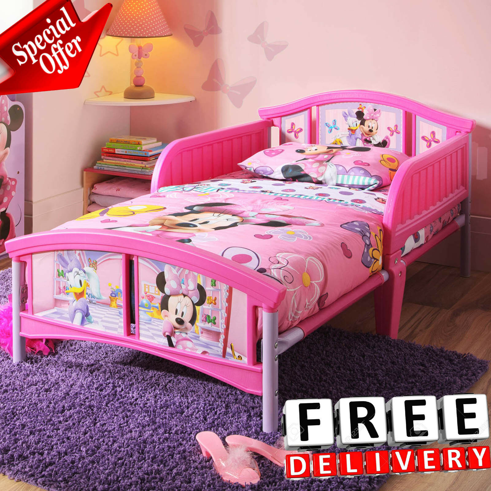 pincess bed furniture minnie bedroom girl child