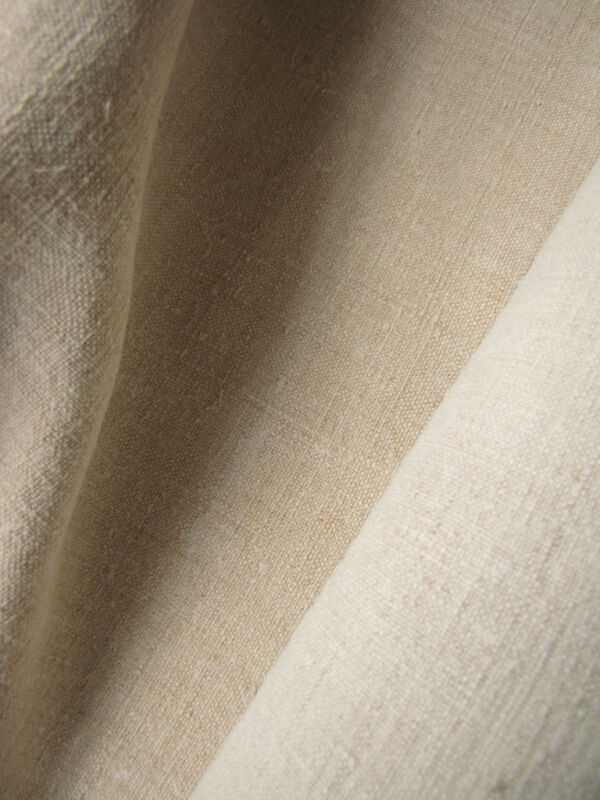 Antique linen upholstery slipcover fabric 7.6 yds finely hand-woven 2 toned!!!!