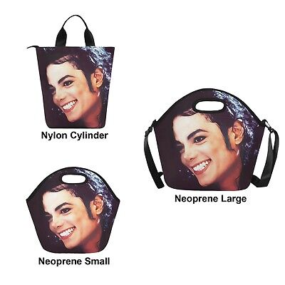 - Michael Jackson Smile Hot or Cold Lunch Bag