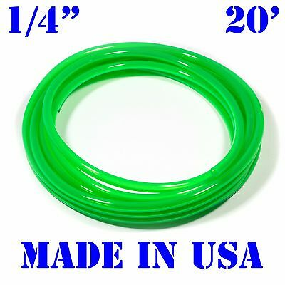 "20' 1/4""ID / 6mm FUEL LINE JetSki Cycle ATV Quad Dirt Bike Gas Hose Tube GREEN"