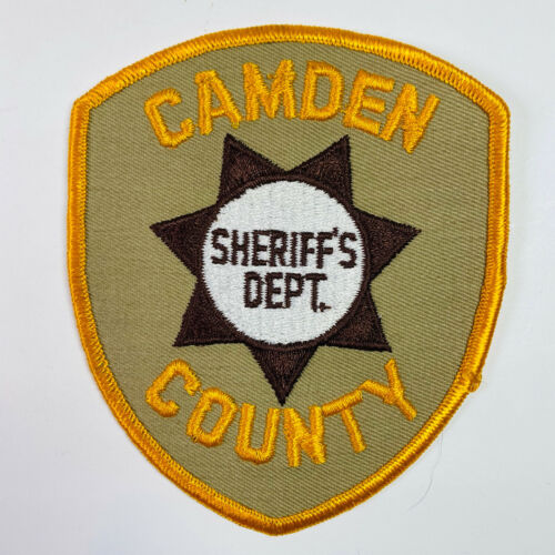 Camden County Sheriff New Jersey Patch