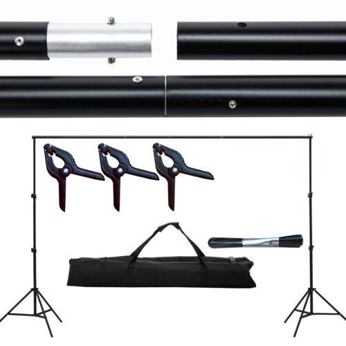 Купить 10Ft Adjustable Background Support Stand Photo Backdrop Crossbar Kit Photography