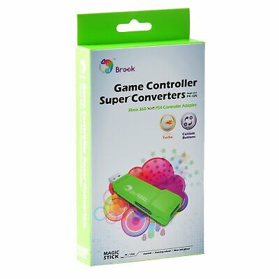 Brook Xbox 360 to PS4/PC Game Controller Super Converter USB Adapter