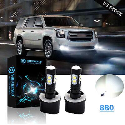 For Chevy Tahoe 2000-2006 880 881 LED Super Bright Fog Driving Light Bulb 6000K