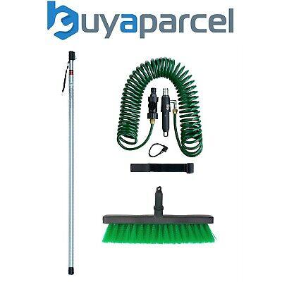 Darlac DP560 Telescopic Pole Handle 2.44m Swop Top + Brush + Spiral Hose Pipe