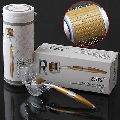 ZGTS Derma Roller Titanium Needle - Anti Ageing Scar Acne Wr