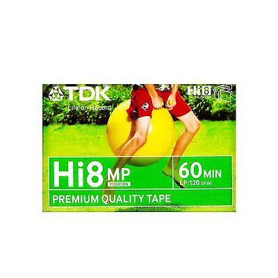 TDK Hi8 Tape 60Min Camcorder Tape